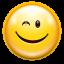 Emotes-face-wink-icon