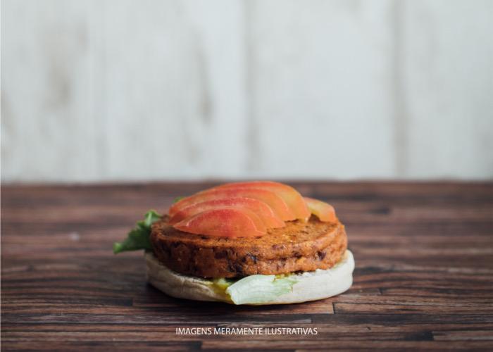 hamburguer julho vegetariano